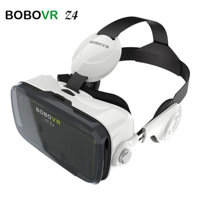 - 2016 Google cardboard VR BOX 2 XiaoZhai bobo vr z4 Virtual Reality 3D Glasses VR Headset earphone movie + Bluetooth Controller - only VR  jetcube