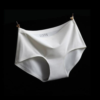 - (3pcs/lot)High Quality Sexy Underwear Women Seamless Panties Tanga Sexy Briefs Silk Calcinha Blankholding Comfort Panties M/L/XL - N4 / M  jetcube