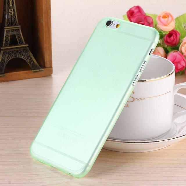 - 0.28mm Ultra thin matte Case cover skin for iPhone 6 plus/5.5 S Translucent slim Soft plastic Free Shipping Cellphone Phone case - Army Green / for iphone6  jetcube