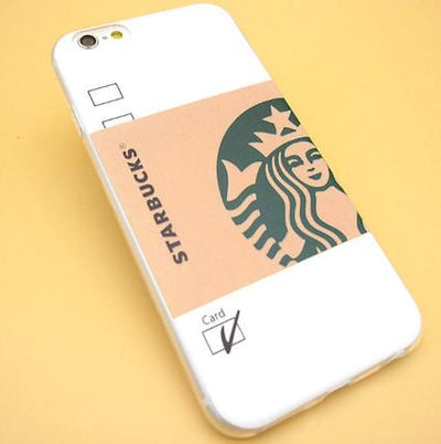 - 2016 Fashion Starbuck Coffee Cup Logo Phone Case Cover For iPhonen 6Plus 5.5 6 4.7 S 5S 5C SE 4 4S Samsung Galaxy - 1 / For iPhone 6Plus  jetcube