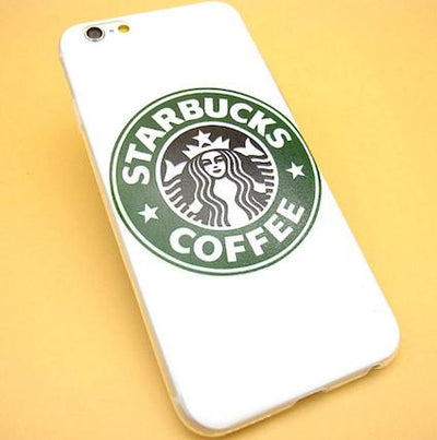 - 2016 Fashion Starbuck Coffee Cup Logo Phone Case Cover For iPhonen 6Plus 5.5 6 4.7 S 5S 5C SE 4 4S Samsung Galaxy - 2 / For iPhone 6Plus  jetcube