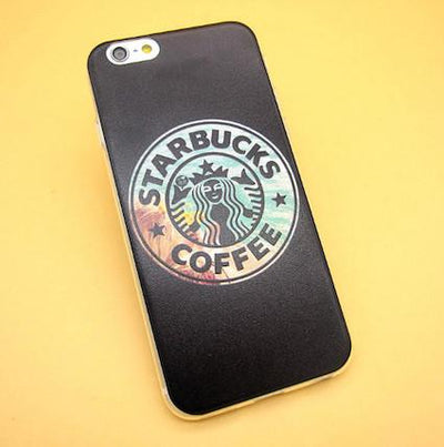 - 2016 Fashion Starbuck Coffee Cup Logo Phone Case Cover For iPhonen 6Plus 5.5 6 4.7 S 5S 5C SE 4 4S Samsung Galaxy - 3 / For iPhone 6Plus  jetcube