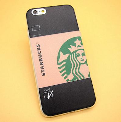 - 2016 Fashion Starbuck Coffee Cup Logo Phone Case Cover For iPhonen 6Plus 5.5 6 4.7 S 5S 5C SE 4 4S Samsung Galaxy - 4 / For iPhone 6Plus  jetcube