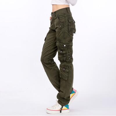 #2105 2016 Joggers women Hip hop women Cargo pants women Military Cotton Straigth Loose baggy Camouflage women Pantalones mujer - Jetcube