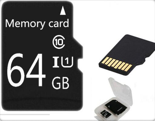!Real capacity TF Card Micro memory card 32gb 64gb Class10 high speed micro  Memory card Class6 gift adapter for phone/tablet - Jetcube