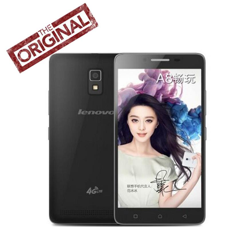 - 100% Original Lenovo A3860 A3860d A8 Cell Phone Android 5.1 MTK6735P 5.0'' 1780*720p 1GB RAM 8GB ROM  8MP+2MP GPS Dual SIM -   jetcube