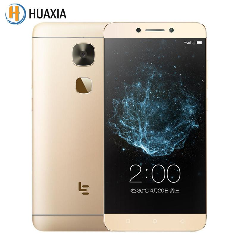 Original Letv LeEco Le 2 X620 Deca Core 3GB RAM 32GB ROM 5.5 '' 4G LTE Android 6.0 Smartphone MTK Helio X20  Mobile Cell Phones