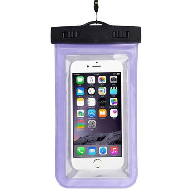 - #AE Top quality Universal Waterproof Pouch Bag Swimming Protection For iPhone 6/6 Plus Cell Phones - Purple  jetcube