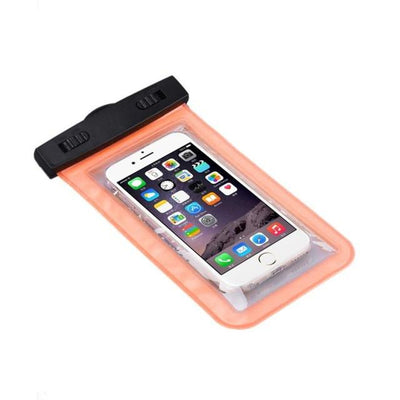 - #AE Top quality Universal Waterproof Pouch Bag Swimming Protection For iPhone 6/6 Plus Cell Phones - Orange  jetcube