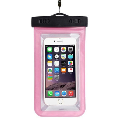 - #AE Top quality Universal Waterproof Pouch Bag Swimming Protection For iPhone 6/6 Plus Cell Phones - Pink  jetcube