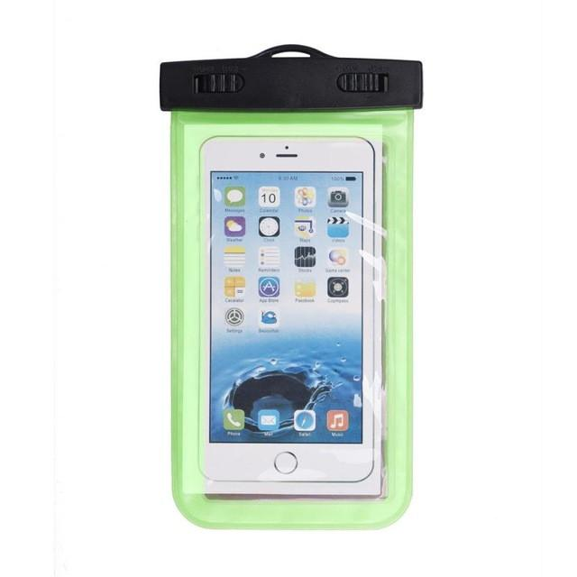 - #AE Top quality Universal Waterproof Pouch Bag Swimming Protection For iPhone 6/6 Plus Cell Phones - Green  jetcube