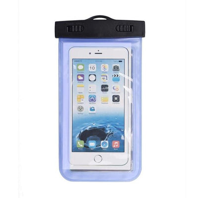 - #AE Top quality Universal Waterproof Pouch Bag Swimming Protection For iPhone 6/6 Plus Cell Phones - Blue  jetcube