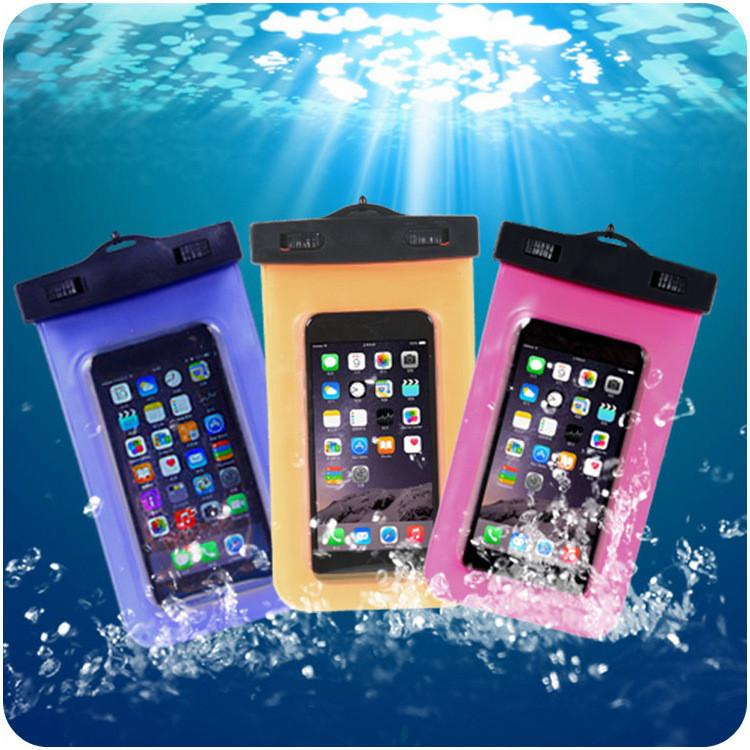 - 100% Sealed Waterproof Bag Case Pouch Phone Cases for iPhone 6/6s 7 Plus/5 5S Samsung Galaxy A3 A5 J3 J5 2016 2017 S8 Plus -   jetcube