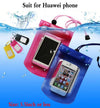 - 1pcs Outdoor travel swim dive submersible For Huawei P10 P7 P8 P9 Lite Honor 8 Huawei Nova Plus G7 Waterproof Bag case cover -   jetcube