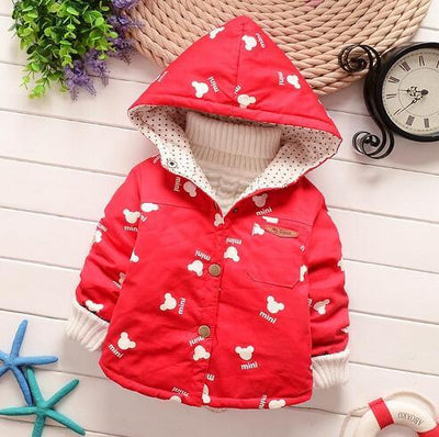 - 0-1-2 years old  Baby cartoon trench coat in spring and autumn outfit 2016 boys girls thin coat boy children cotton windbreaker -   jetcube