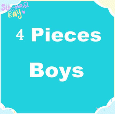 - 0-24M Cute PP Pants 4 Pieces / Lot Baby Trousers Kid Wear Cartoon Boys Girls Infant Toddlers Clothing Creppers Cotton Pant V20 - 4 pieces for boys / 0-3 months  jetcube
