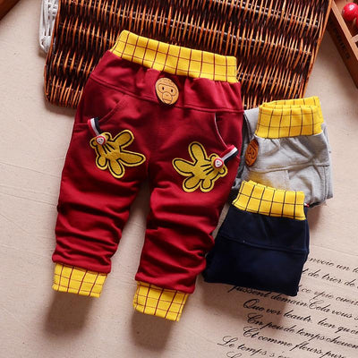 - 0-2T baby boys pants letters boy clothing cotton baby clothing kids trousers children pants harem sports factory sale qk283 -   jetcube