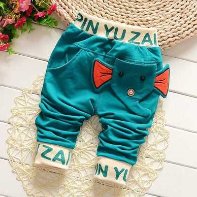 - 0-2T baby boys pants letters boy clothing cotton baby clothing kids trousers children pants harem sports factory sale qk283 - light blue da xiang / 7-9 months  jetcube