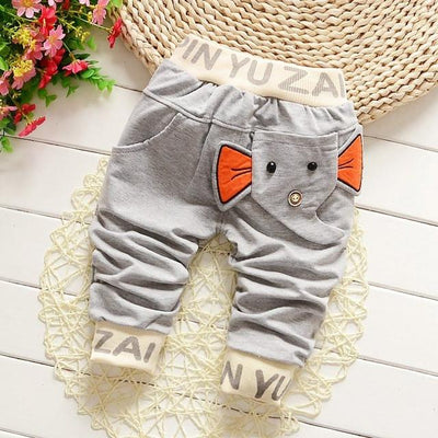 - 0-2T baby boys pants letters boy clothing cotton baby clothing kids trousers children pants harem sports factory sale qk283 - gray da xiang / 7-9 months  jetcube