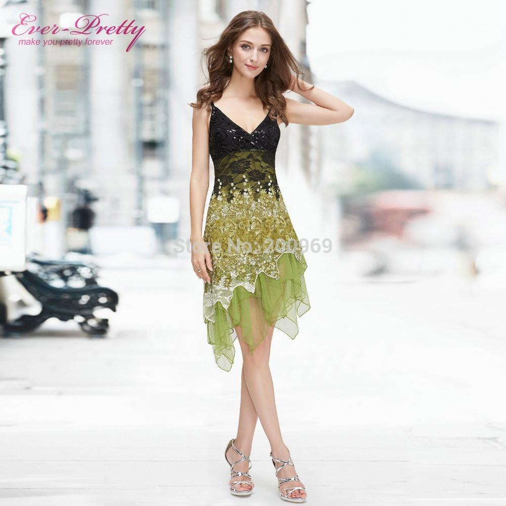 ccb5790f30d Cocktail Dresses Ever Pretty EP00045 Summer Styles New Arrival Hot Sexy  Flowing Knee Length Lace Cocktail