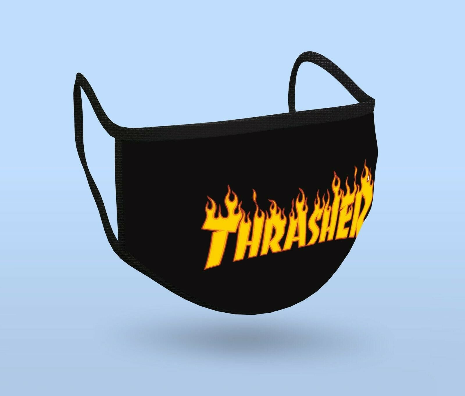 Thrasher backwoods fire custom washable reusable Cloth Fabric Mask Face cover