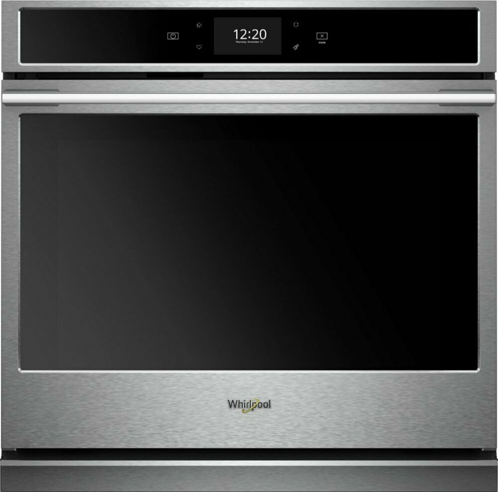 "Whirlpool WOSA2EC0HZ 30"" Built-In Single Electric Convection Wall Oven - SS"