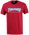 Thrasher Magazine Mens S/S T-Shirt OUTLINED Skate Board RED Streetwear S-XL $30