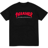 "Thrasher ""GODZILLA"" S/S T-Shirt Black/Red"