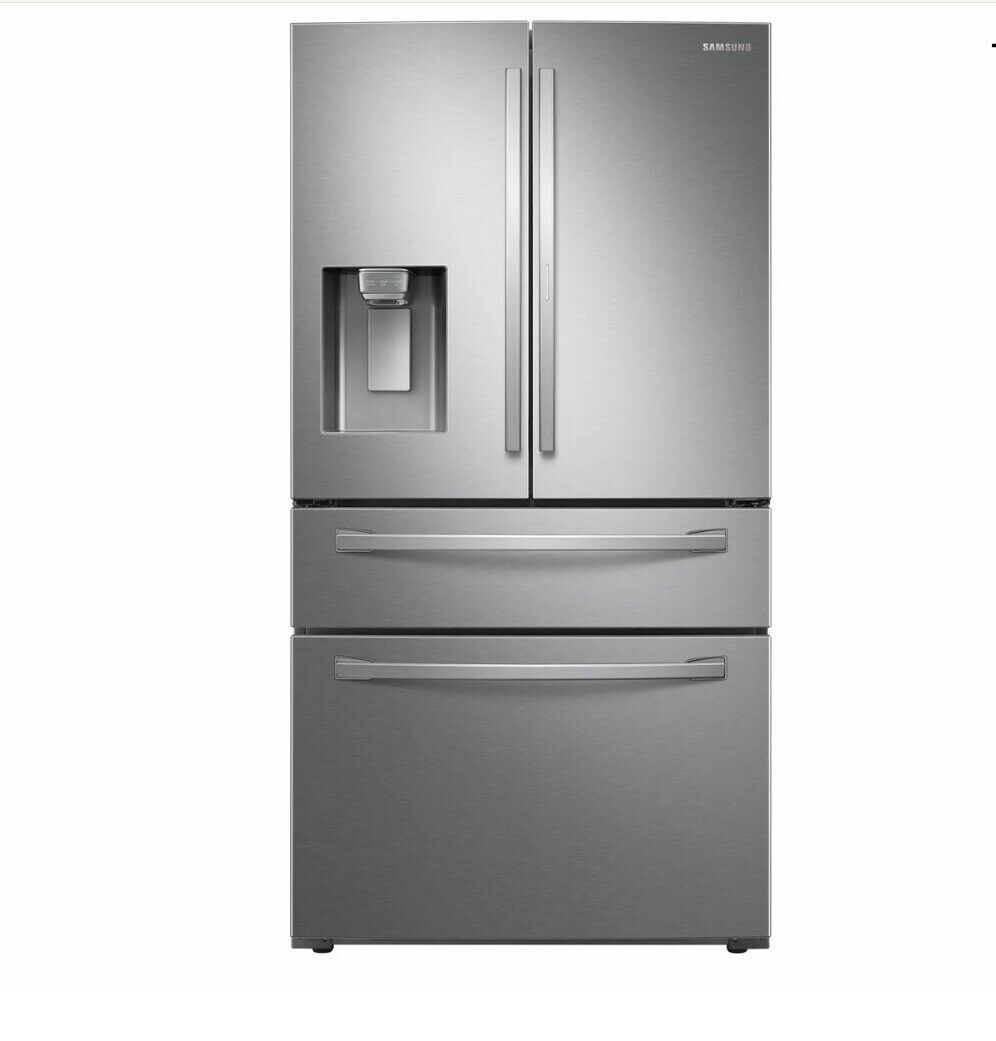 Samsung RF28R7351SR 28 cu. ft. 4-Door French Door Food Showcase Refrigerator - S