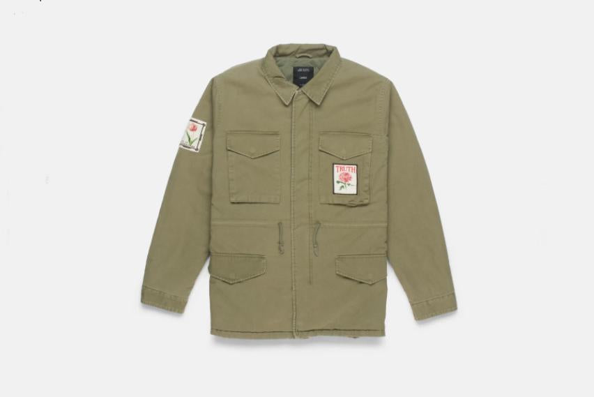 Apparel - 10 Deep Thinking Of You M-65 Jacket - Army -   jetcube