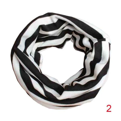Scarves - 18 Colors Warm Baby Scarf Kids Child Cotton Scarf Boys Girls Pure color O ring scarf children neck Scarves - 02  jetcube