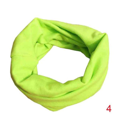 Scarves - 18 Colors Warm Baby Scarf Kids Child Cotton Scarf Boys Girls Pure color O ring scarf children neck Scarves - 04  jetcube