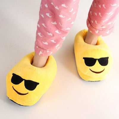 Women's Pumps - 13 Color  Funny Animal  Cute Emoji Slippers Cartoon Slipper Warm Soft Plush Winter Indoor Emoji Shoes - 11  jetcube
