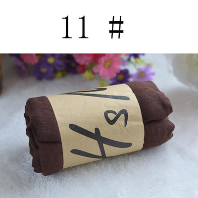 Scarves - 180*80 CM Fashion 2016 New Designer Brand Scarf Women Winter Cotton & Linen Blended Solid Echarpes Foulards Femme Scarves 99633 - 11coffee  jetcube