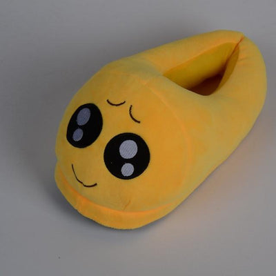 Women's Pumps - 13 Color  Funny Animal  Cute Emoji Slippers Cartoon Slipper Warm Soft Plush Winter Indoor Emoji Shoes - 13  jetcube