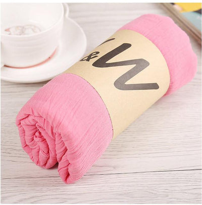Scarves - 180*80CM New Fashion 2016 Winter Spring Autumn Warm High Quality Brand Scarf Women Solid Soft Vintage All Match Foulard Echarpe - 16pink  jetcube