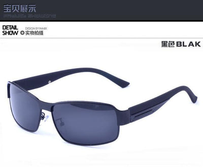 Sunglasses - 2016 HD VIsion Mens Polarized SunGlasses Blue Coating Men Sun glasss Designer Driving shades UV - 1  jetcube