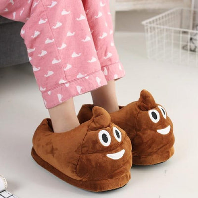 Women's Pumps - 13 Color  Funny Animal  Cute Emoji Slippers Cartoon Slipper Warm Soft Plush Winter Indoor Emoji Shoes - 1  jetcube