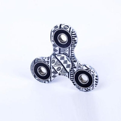 fidget spinner - (LONSUN) Nice Feel Quality Multicolor Tri-Spinner Fidget spinner Speelgoed EDC Hand Spinner Anti Stress Reliever handspinner - 23 Ethnic style  jetcube