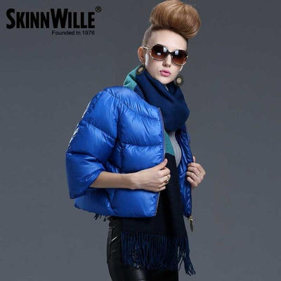 Down Coats - 2016 fashion high quality down coat female short design slim outerwear autumn and winter thickening thin - 24 / L  jetcube