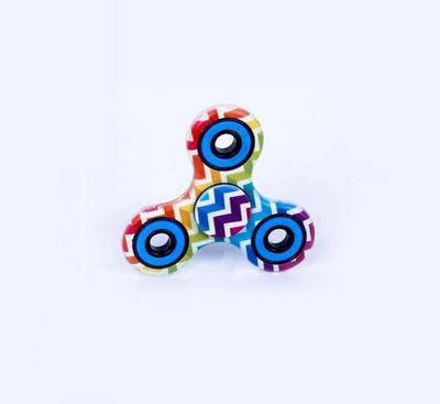 fidget spinner - (LONSUN) Nice Feel Quality Multicolor Tri-Spinner Fidget spinner Speelgoed EDC Hand Spinner Anti Stress Reliever handspinner - 25 Ethnic style  jetcube
