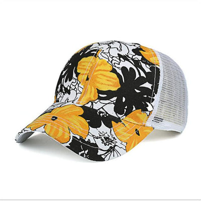 Baseball Caps - (BUILT CLEAR) 2017 ladies outdoor roses printed hat, casquette summer sports shade baseball cap reissue ladies hat snapback caps - 3  jetcube