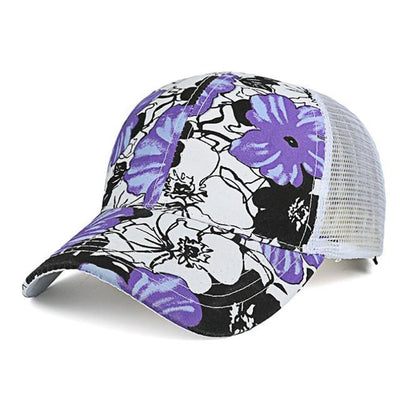 Baseball Caps - (BUILT CLEAR) 2017 ladies outdoor roses printed hat, casquette summer sports shade baseball cap reissue ladies hat snapback caps - 4  jetcube