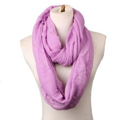 Scarves - 180CM*80cm Long Scarf Women linen Shawls And Scarves Solid Round Towel Autumn Winter Warm Scarf Poncho Feminino Inverno - 5  jetcube