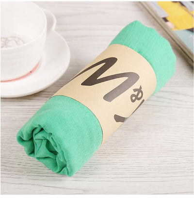 Scarves - 180*80CM New Fashion 2016 Winter Spring Autumn Warm High Quality Brand Scarf Women Solid Soft Vintage All Match Foulard Echarpe - 5bohe green  jetcube