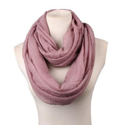 Scarves - 180CM*80cm Long Scarf Women linen Shawls And Scarves Solid Round Towel Autumn Winter Warm Scarf Poncho Feminino Inverno - 6  jetcube