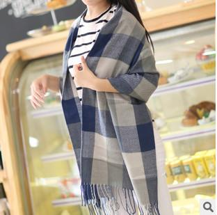 Scarves - 2016 Fashion Wool Winter Scarf Women Spain Desigual Scarf Plaid Thick Brand Shawls and Scarves for Women - 7  jetcube