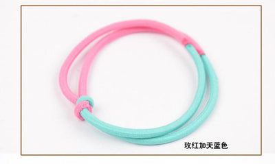 Hair Accessories - (Min order $10)Colorful flower hairband for women/girl ponytail holder elastic hair band ties hair accessory  HB05 1pcs/lot - 8  jetcube