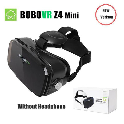 VR/AR Devices - (Ship From RU) BOBOVR Z4 Mini Virtual Reality 3D glasses Cardboard 120 Degrees FOV  VR Box Headset 3D with Bluetooth Remote - BOBOVR Z4 MINI  jetcube