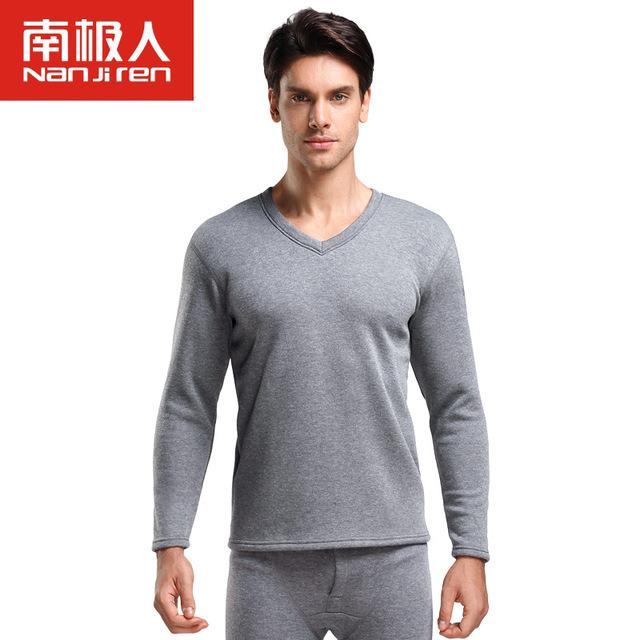 5a3e8f1f6 Men s Cotton Thicker plus v Thermal Underwear For Men Long Johns ...